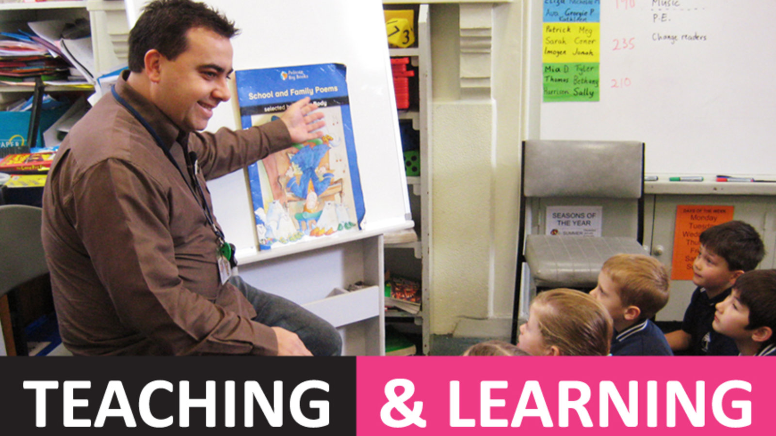 Teaching & Learning: Teaching Literacy