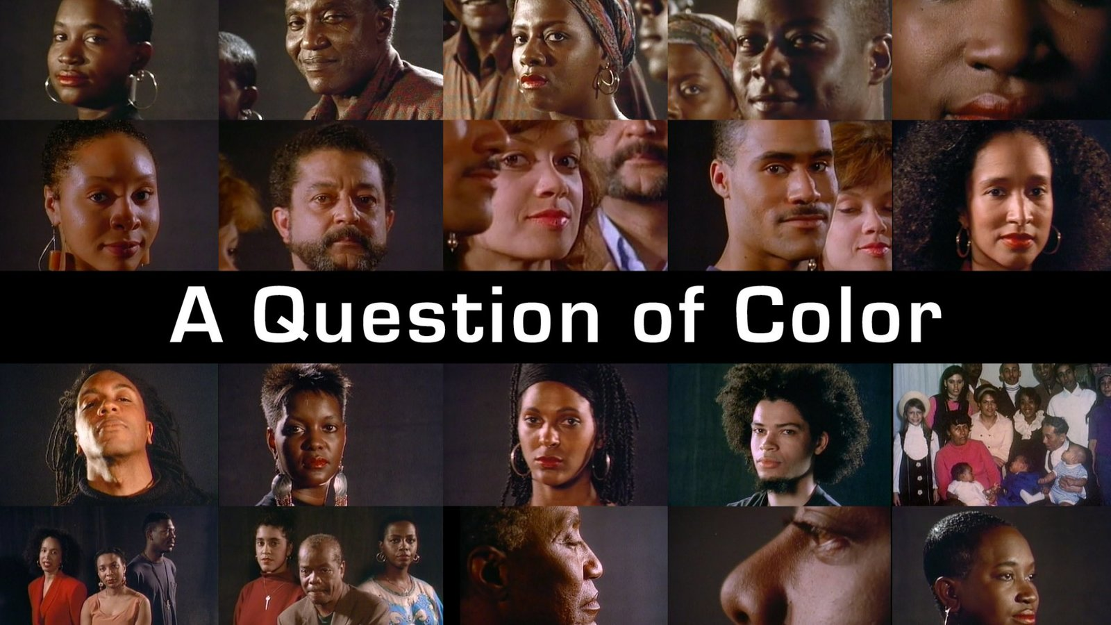"A Question of Color - The Subconscious World of ""Color Consciousness"""