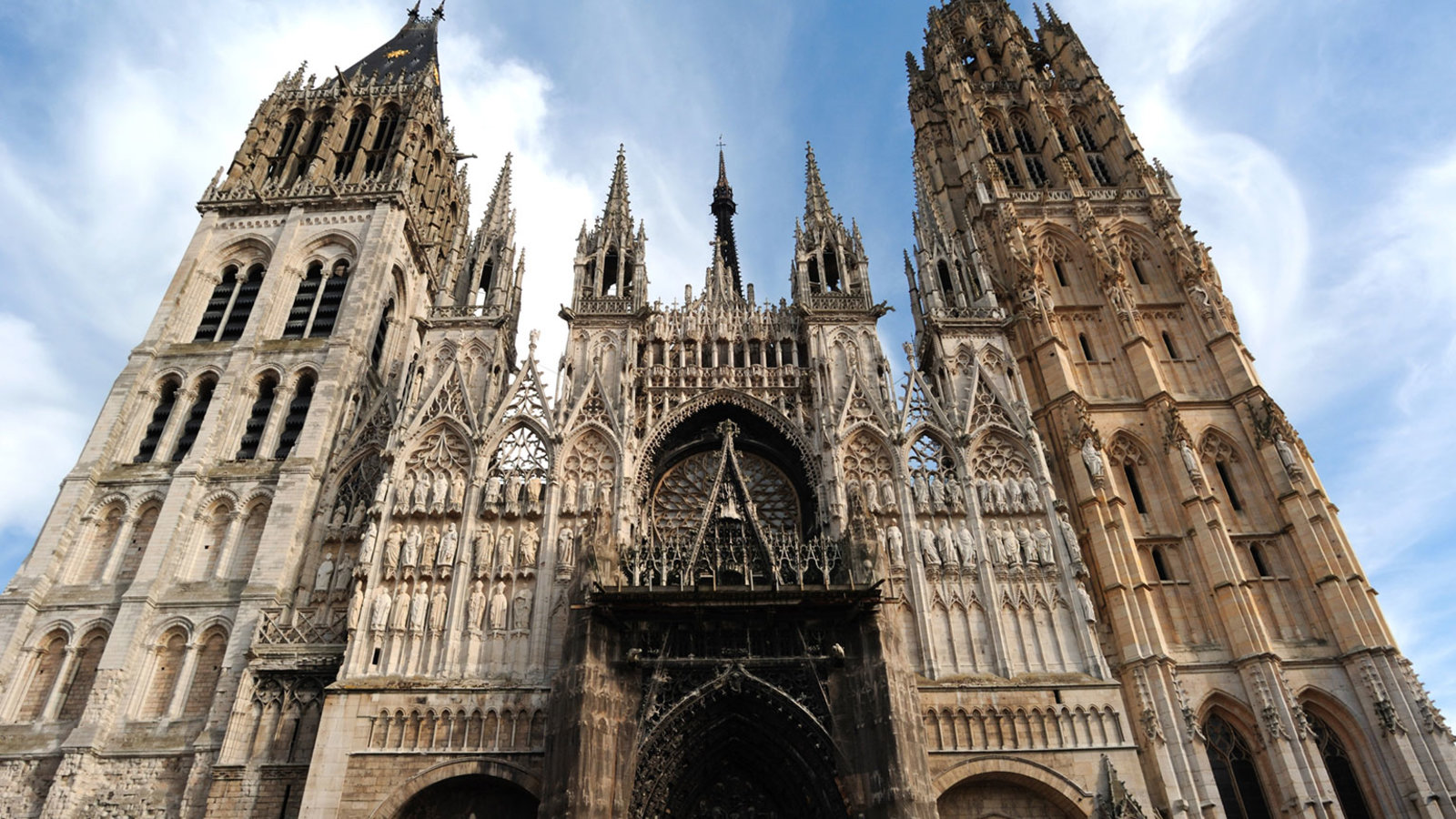 The Rise and Fall of the Gothic Cathedral