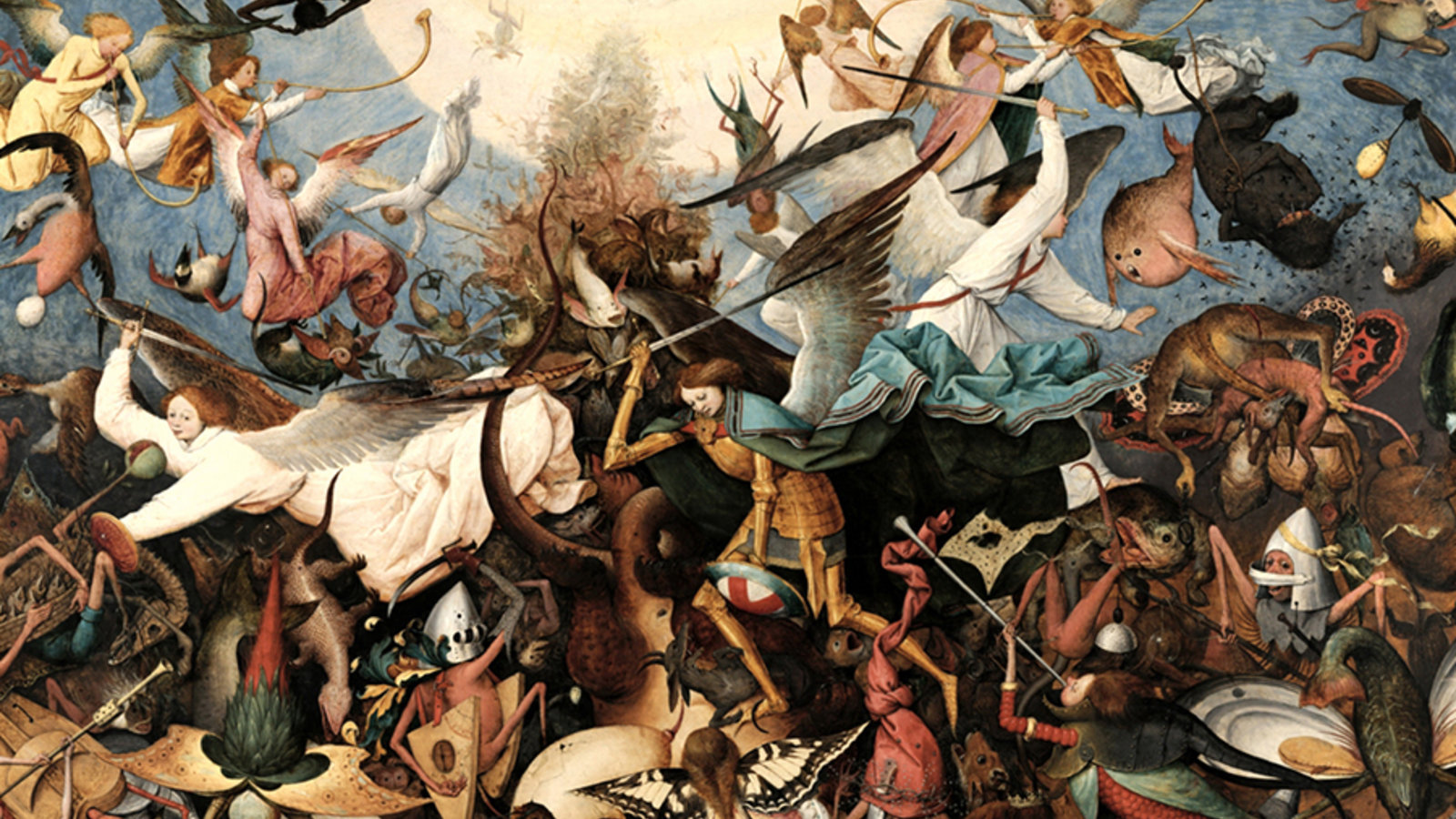 Image result for the fall of the rebel angels