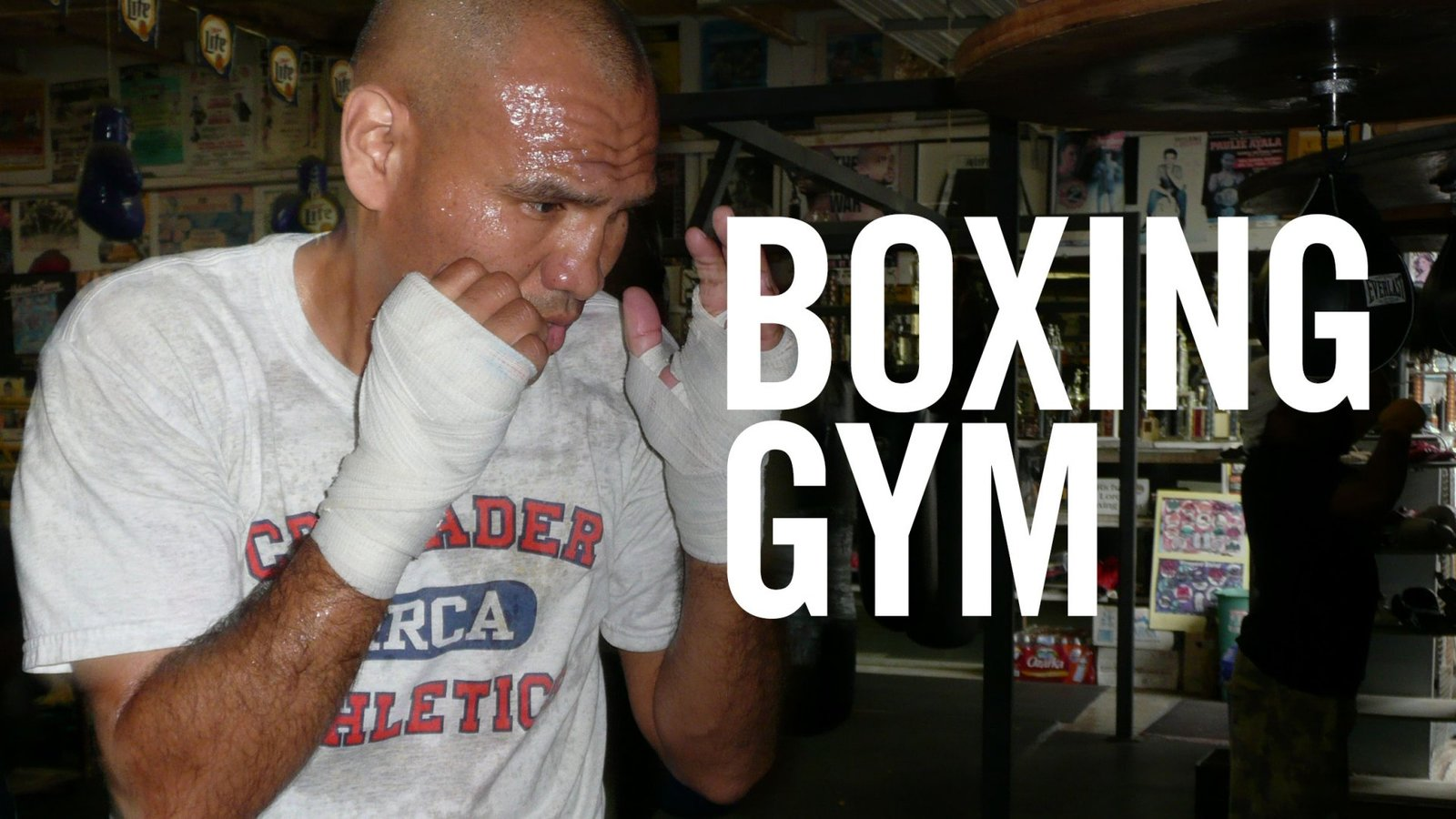 Boxing Gym - The Patrons of a Texas Gym
