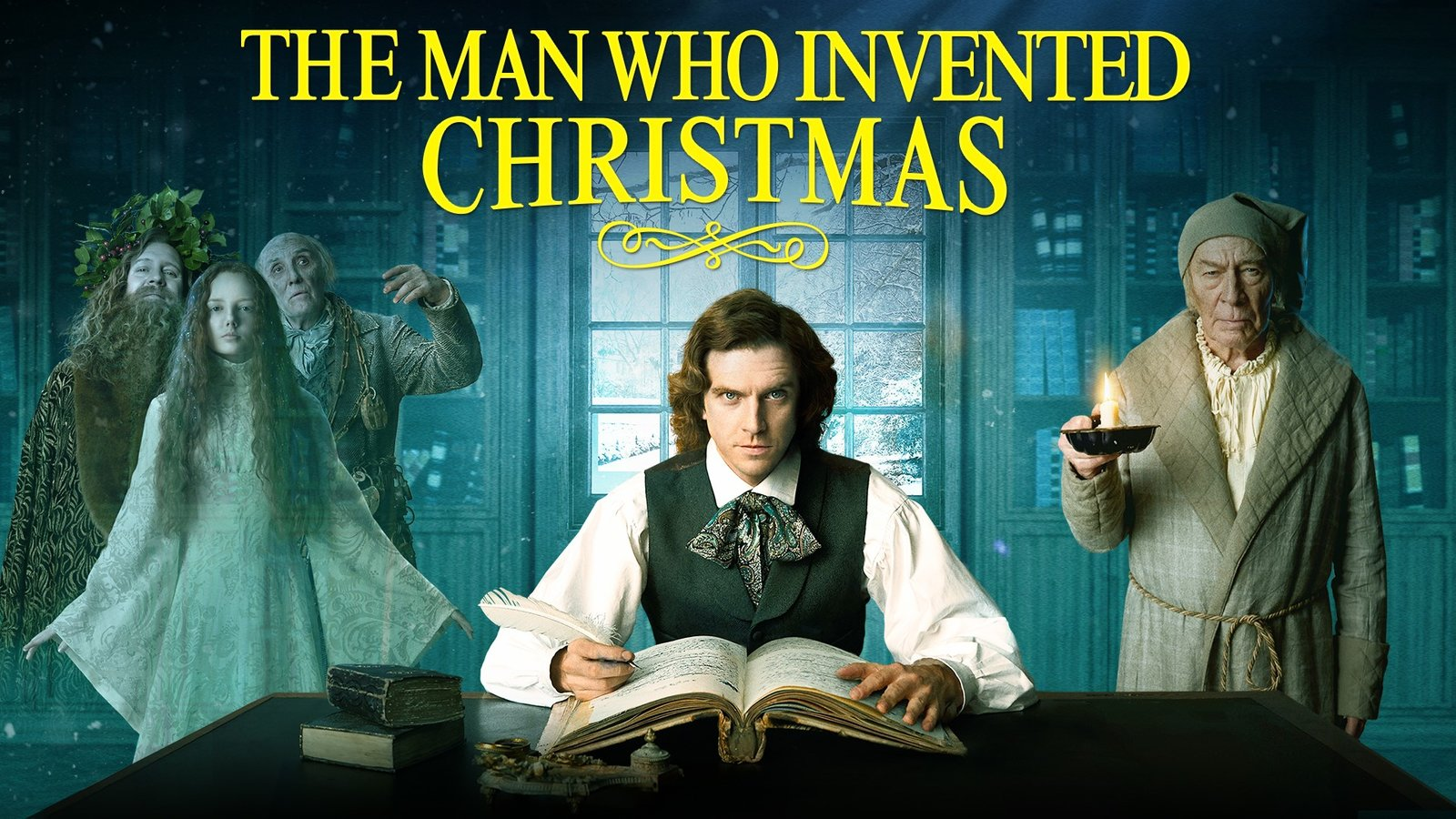 The Man Who Invented Christmas | Kanopy
