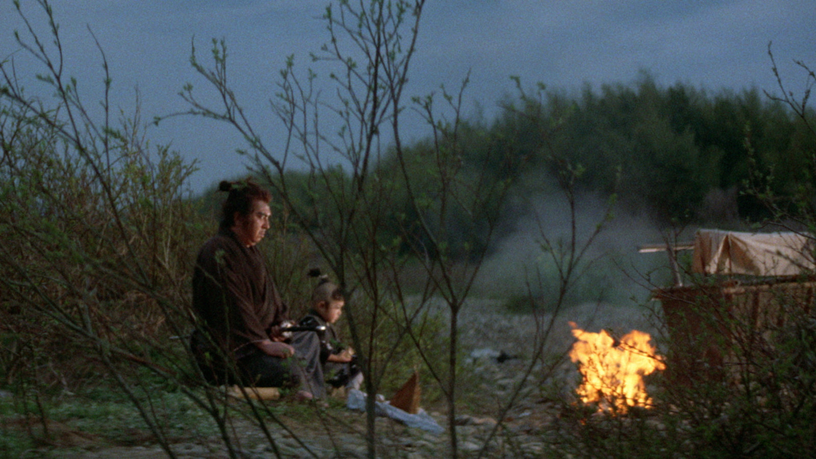 Lone Wolf And Cub Baby Cart At The River Styx Kanopy