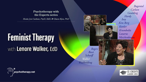 Feminist Therapy - With Lenore Walker