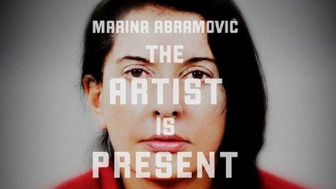 Marina Abramovic: The Artist is Present.
