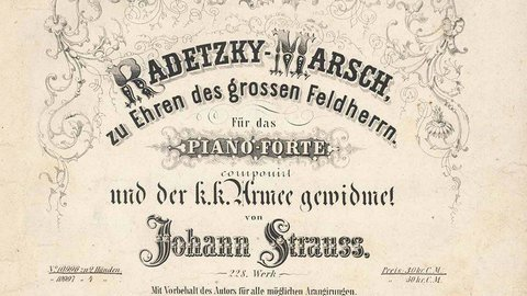 Strauss Sr.: Radetzky March - 1848