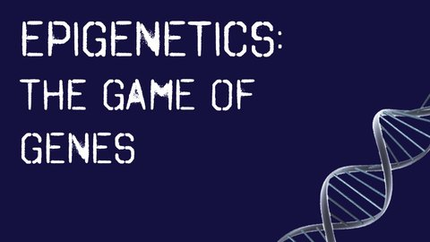 Epigenetics: The Game of Genes - Our Genes, Our Environment, Our Destiny