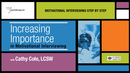 Increasing Importance in Motivational Interviewing - With Cathy Cole