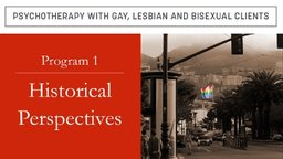 Psychotherapy with Gay, Lesbian and Bisexual Clients Series
