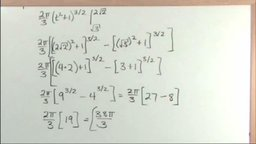 Surface Area of Revolution In Parametric Equations