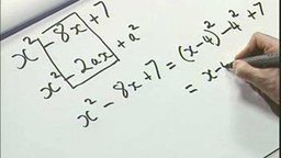 Completing the Square (max, min)