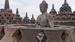 Borobudur—Ancient Buddhist Stupa