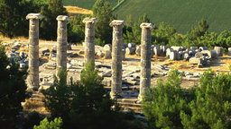 Up the Meander River: Priene to Pamukkale