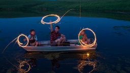 Live Event Photography: Family Fishing Night