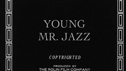 Young Mr. Jazz