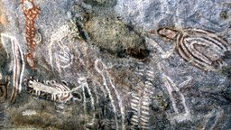 Tchitundu-Hulu Rock Art - Paintings and Engravings of Angola, Africa