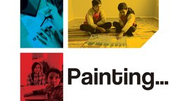 Painting... - Young Afghani Refugees Paint their Memories of War