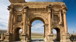 Timgad - More Roman Than Rome