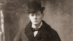 Young Churchill